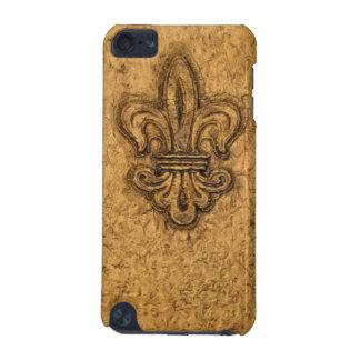 Textura francesa de New Orleans de la flor de lis