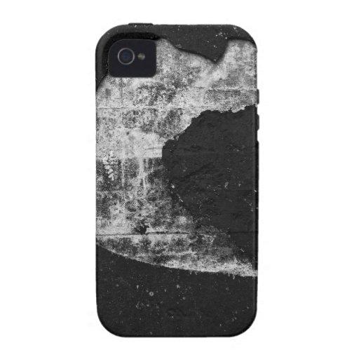 Textura fresca del black&white Case-Mate iPhone 4 funda