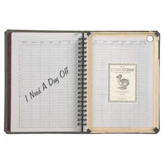 Textura fresca del cuaderno con el texto divertido