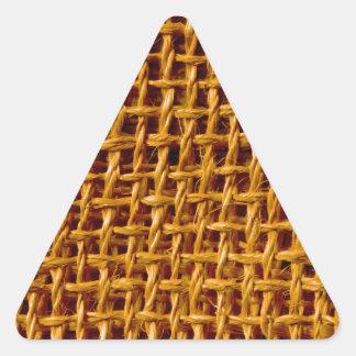 Textura fresca del Grunge de la mirada de la Pegatina Triangular