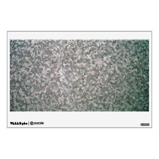 Textura galvanizada de la placa de acero vinilo decorativo