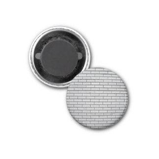 Textura gris de la pared de ladrillo imán de frigorifico
