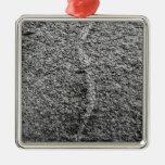 Textura gris de la roca ornamentos para reyes magos