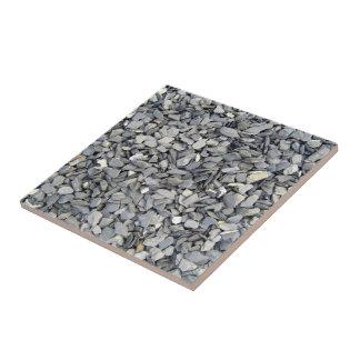 Textura gris de los microprocesadores de la pizarr azulejo cuadrado pequeño