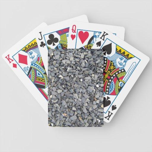 Textura gris de los microprocesadores de la pizarr baraja de cartas