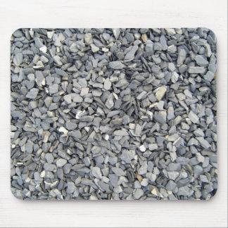 Textura gris de los microprocesadores de la pizarr tapetes de raton