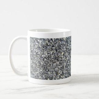 Textura gris de los microprocesadores de la pizarr tazas
