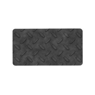 Textura gris oscuro de la placa del diamante etiqueta de dirección