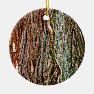Textura hermosa de la corteza de árbol ornamento para reyes magos