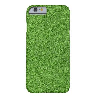 Textura hermosa de la hierba verde del campo de funda barely there iPhone 6