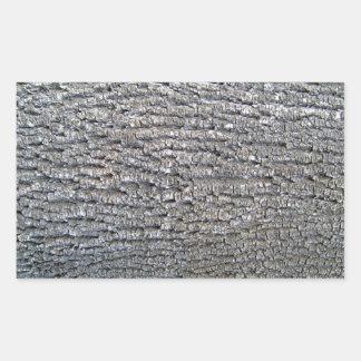 Textura horizontal de la corteza de árbol rectangular altavoces