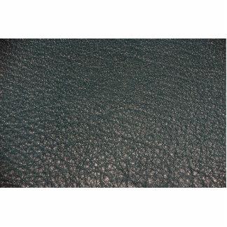 Textura ilustrativa del cuero de la aguamarina fotoescultura vertical
