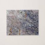 Textura inconsútil de la roca con los liquenes puzzle