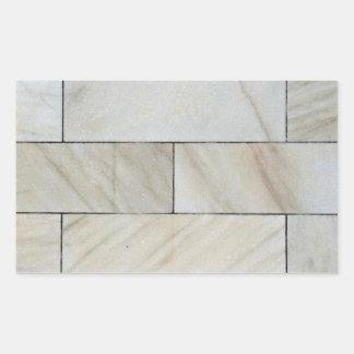 Textura inconsútil de la teja de la pared de rectangular pegatinas
