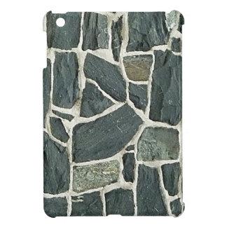 Textura irregular de la pared de piedras