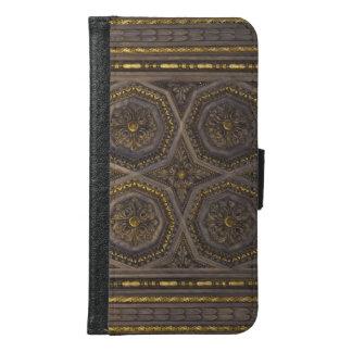Textura medieval de la cubierta de libro de las