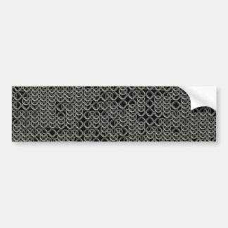 Textura medieval de plata hecha andrajos de la pegatina para auto