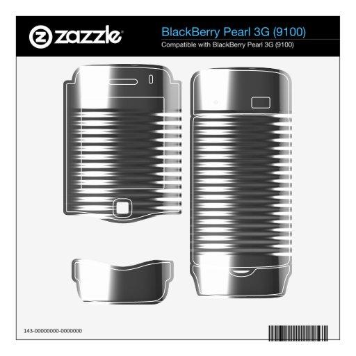 textura metálica de la lata 3d skins para BlackBerry pearl