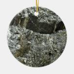 Textura mojada de la roca ornato
