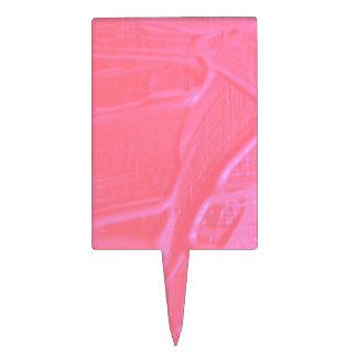 textura mojada del color, caramelo rosado palillos de tarta
