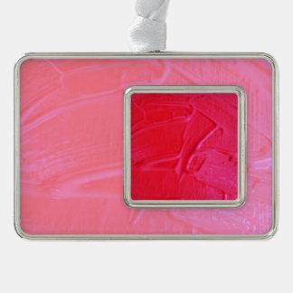 textura mojada del color, rosa fuerte adornos navideños