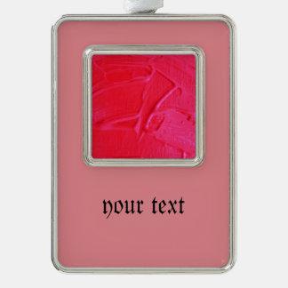 textura mojada del color, rosa fuerte adornos con foto