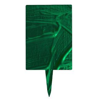 textura mojada del color, verde decoraciones de tartas