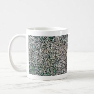 Textura muerta de la hierba tazas