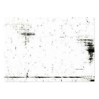 Textura negra del Grunge del borde (añada su Tarjetas De Visita Grandes