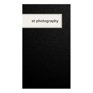 Textura negra elegante de la tarjeta de visita de