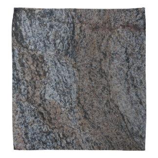 Textura negra roja de piedra del granito bandanas