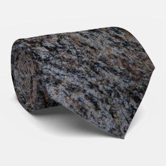 Textura negra roja de piedra del granito corbatas personalizadas