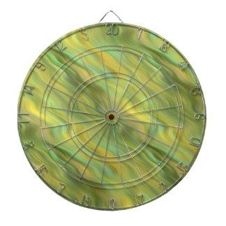 Textura ondulada amarilla del girasol tablero de dardos