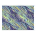Textura ondulada de la lavanda postales
