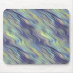 Textura ondulada de la lavanda tapete de ratón