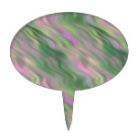 Textura ondulada del tulipán rosado figuras para tartas