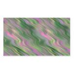 Textura ondulada del tulipán rosado plantillas de tarjeta de negocio