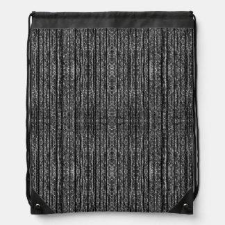 Textura oscura del Grunge Mochilas