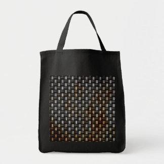 textura oxidada de la fibra de carbono bolsa tela para la compra