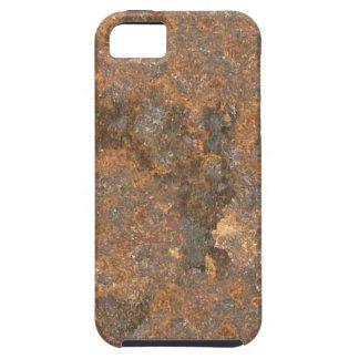 Textura oxidada del metal iPhone 5 Case-Mate carcasas