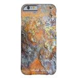 Textura oxidada funda de iPhone 6 barely there