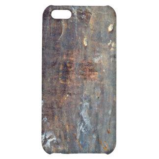 Textura oxidada rasguñada del metal