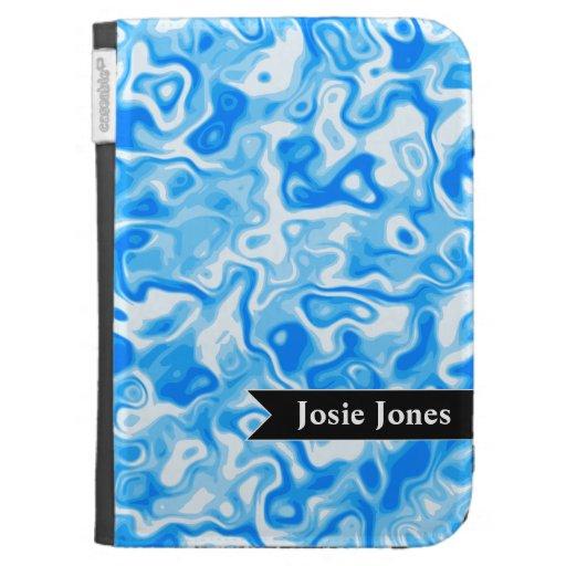 Textura personalizada del agua azul