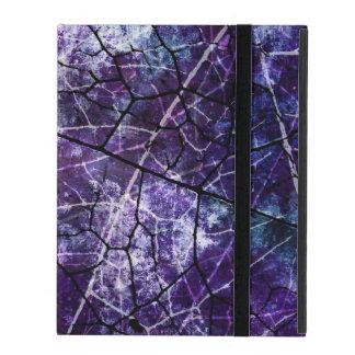 Textura púrpura, azul, y roja del Grunge del iPad Cobertura