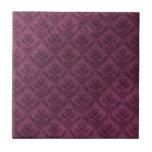 Textura púrpura del Grunge del papel pintado del Azulejo Ceramica