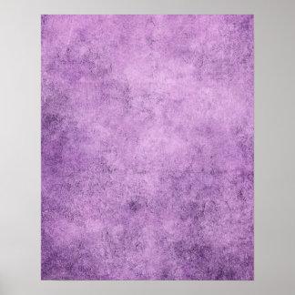 Textura púrpura envejecida y llevada del vintage poster