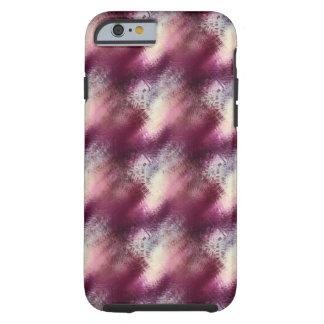 Textura púrpura funda de iPhone 6 tough