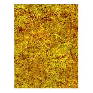Textura quemada del embaldosado de la arena tarjeta postal