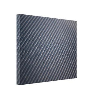 Textura real de la foto de la fibra de carbono impresion de lienzo