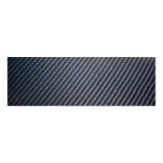 Textura real de la foto de la fibra de carbono plantilla de tarjeta de negocio